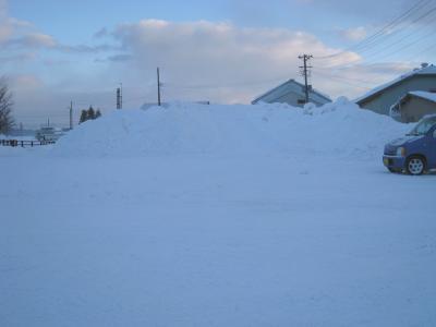 雪の山01