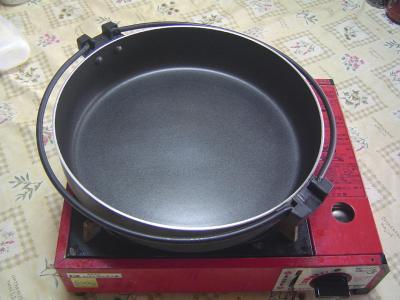④すき焼き鍋