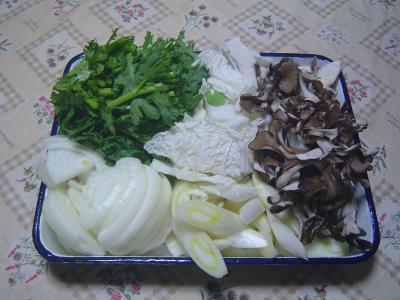 ⑥切った野菜