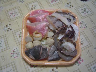 ①海鮮鍋食材