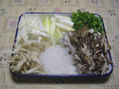 ⑩切った野菜