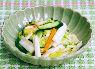 30分浅漬け(きゅうり・にんじん・白菜)