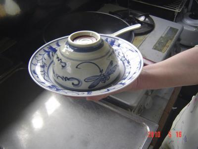 ⑭炒飯の盛りつけ3