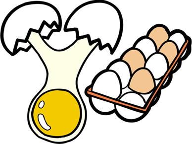 卵のイラスト