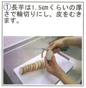 長芋ステーキ①