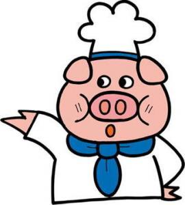 豚さんのイラスト③