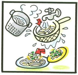ひんやり麺の作り方③