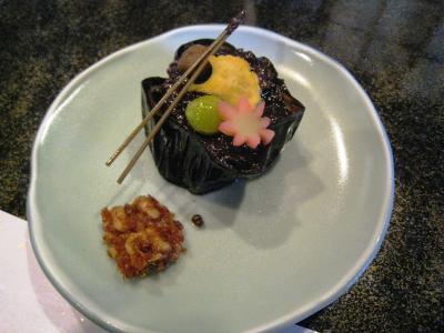 料亭 門松さんのお料理②