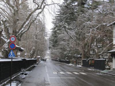 武家屋敷の冬の様子 15ー1
