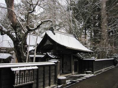 武家屋敷の冬の様子 15-2