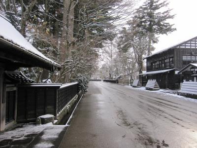 武家屋敷の冬の様子 15-3