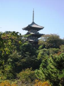 """三溪園さんのシンボル""""三重塔""""②"""