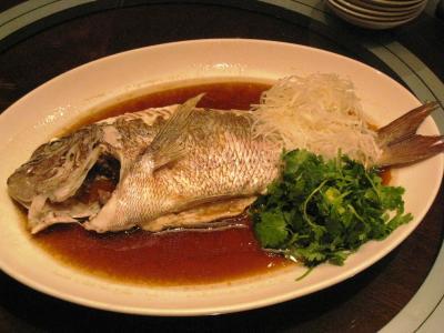 招福門さん⑧鮮魚の姿蒸し