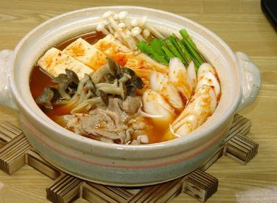 ②キムチ鍋