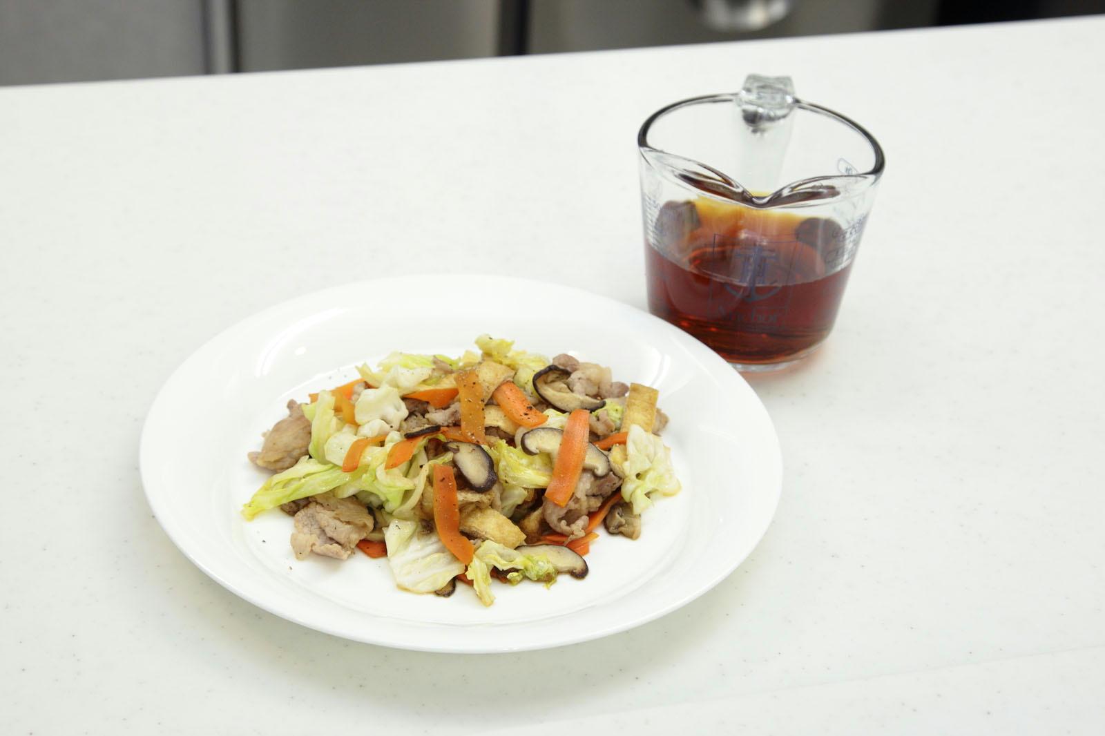 ひんやり麺の作り方⑤