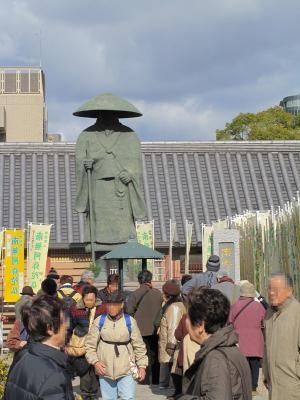 ②弘法大師像