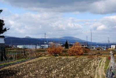 石光寺から生駒山