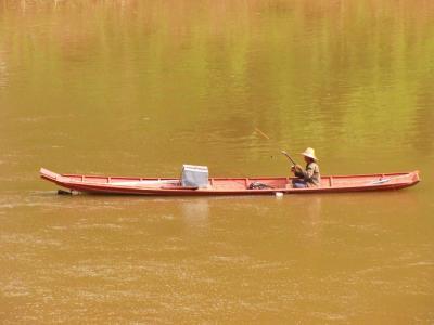 メコンの釣り人@ルアンパバーン