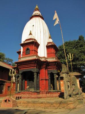 ヒンドゥー的タワー@パシュパティナート