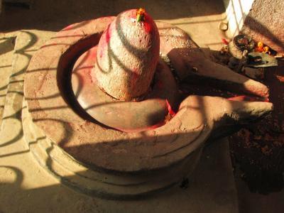 シヴァ神の象徴@カトマンドゥ