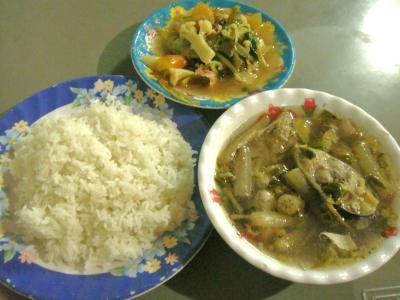 カンボジア的惣菜&ライス⑤