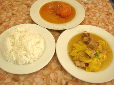 カンボジア的惣菜&ライス④
