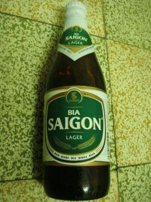 サイゴンビール@ホーチミン