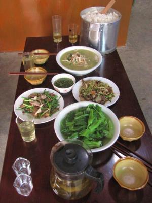 4人の晩餐@元陽