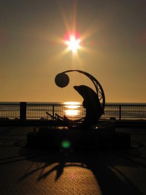 最果ての夕焼け@ノシャップ岬