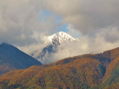 北アルプスの麓、秋から冬へ②@安曇野
