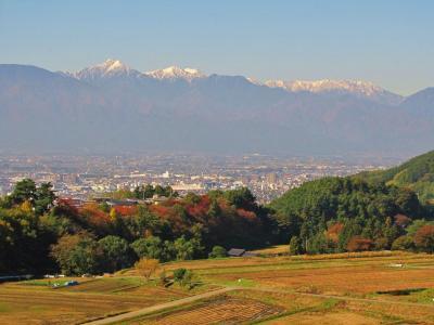 北アルプスの麓、秋から冬へ④@松本