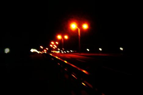 夜の犬山橋