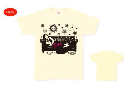 月に恋する太陽Tシャツ