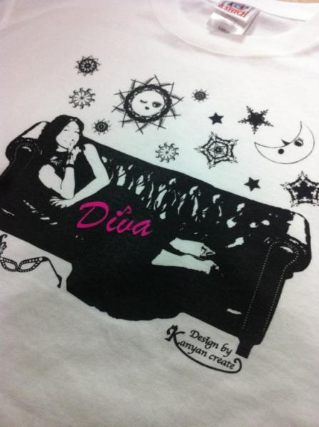 Diva2012Tシャツ 月に恋する太陽
