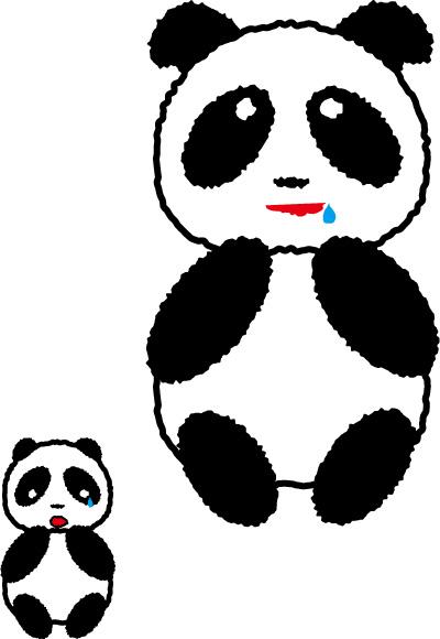 レトロパンダ じゅるっ