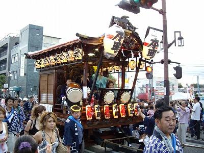 上溝夏祭り・山車1-20110723