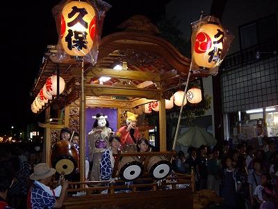 上溝夏祭り・山車2-20110723