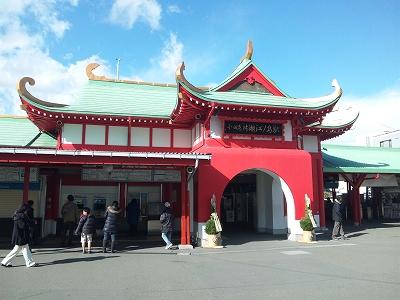 小田急片瀬江ノ島駅20111225