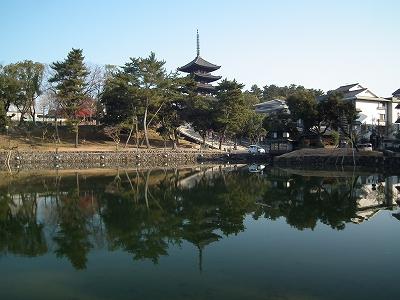猿沢の池20111229
