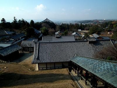 東大寺二月堂より20111229