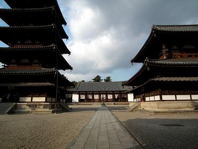 法隆寺中心伽藍20111229