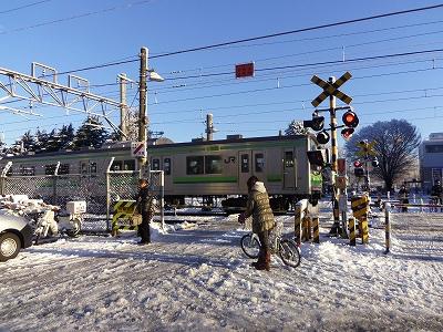雪の朝1-20120124