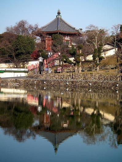 猿沢池と南円堂20111229