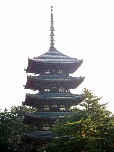 興福寺五重塔1-20111229
