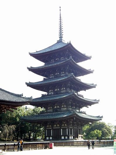 興福寺五重塔2-20111229