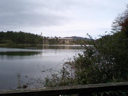 湖畔の素敵な宿♪