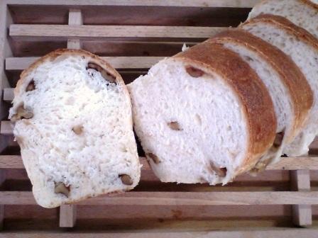 くるみ入りパン♪