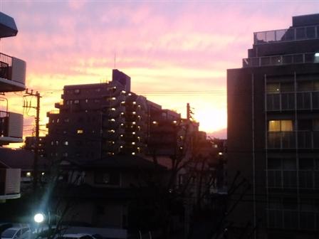 Atardecer en Tokio