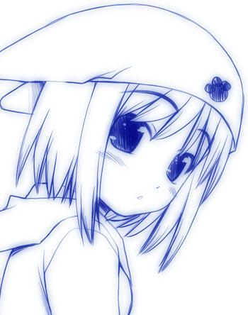耳帽子少女01b