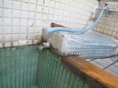 綿の湯湯口